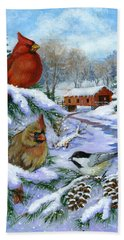 Christmas Creek Hand Towel