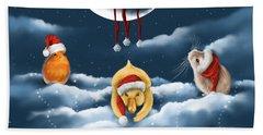 Christmas Games Hand Towel