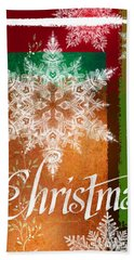 Christmas Greetings Hand Towel