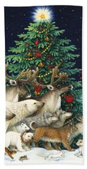 Christmas Parade Bath Towel
