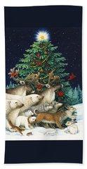 Christmas Parade Hand Towel
