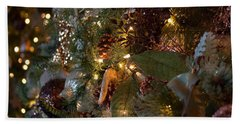 Bath Towel featuring the photograph Christmas Tree Splendor by Patricia Babbitt