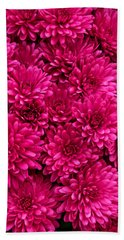 Chrysantheumums Bath Towel