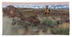 Chukar Hunting In Nevada Bath Towel
