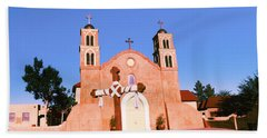 Church In A City, San Miguel Mission Bath Towel