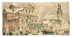 Church Of St Peter And Paul In Krakow Bath Towel