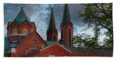 Church Of The Resurrection Hand Towel