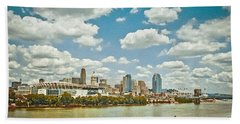 Cincinnati 4 Bath Towel