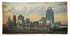 Cincinnati Ohio Vii Bath Towel