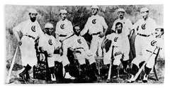 Cincinnati Red Stocking Baseball Team Hand Towel