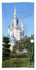 Cinderella's Castle - Disney World Orlando Hand Towel