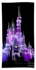 Cinderella's Castle Bath Towel