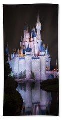 Cinderella's Castle Reflection Hand Towel
