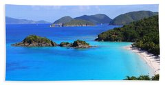 Cinnamon Bay St. John Virgin Islands Hand Towel