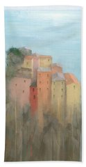 Cinque Terre Bath Towel by Steve Mitchell