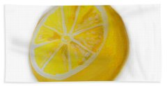 Hand Towel featuring the painting Citrus by Marisela Mungia