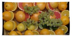 Hand Towel featuring the photograph Citrus by Michael Canning