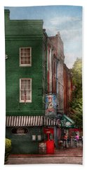City - Baltimore - Fells Point Md - Bertha's And The Greene Turtle  Hand Towel