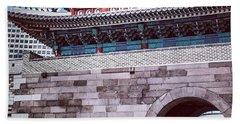 City Gate, Seoul, South Korea. This Hand Towel