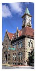 City Hall - Johnstown Pa Bath Towel