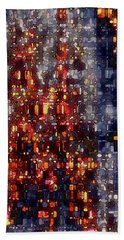 City Lights Bath Towel