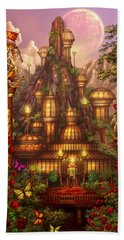 City Of Wands Hand Towel by Ciro Marchetti