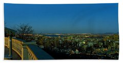 City Viewed From An Observation Point Bath Towel