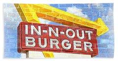 Classic Cali Burger 2.5 Hand Towel