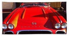 Classic Corvette Bath Towel