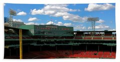 Bath Towel featuring the photograph Classic Fenway I  Fenway Park by Iconic Images Art Gallery David Pucciarelli