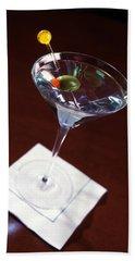 Classic Martini Hand Towel by Jon Neidert