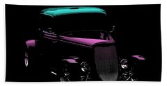Old Car Hand Towel featuring the photograph Classic Minimalist by Aaron Berg