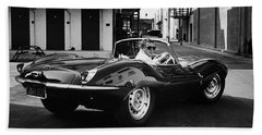 Classic Steve Mcqueen Photo Hand Towel
