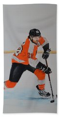 Claude Giroux Philadelphia Flyer Hand Towel