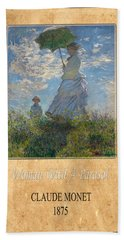 Claude Monet 1 Bath Towel