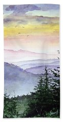 Clear Mountain Morning II Bath Towel