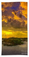 Clearing Skies Bath Towel by Marvin Spates