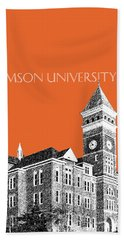 Clemson University - Coral Hand Towel