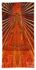 Meditation Bath Towel by Joseph J Stevens
