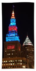 Cleveland Towers Hand Towel by Dale Kincaid