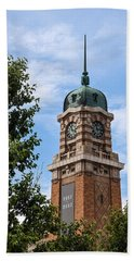 Cleveland West Side Market Tower Hand Towel by Dale Kincaid
