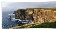 Cliffs Of Moher Evening Light Hand Towel