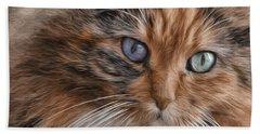Cloe Kitty Hand Towel