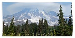 Cloud Capped Rainier Hand Towel