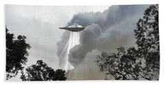 Cloud Cover Bath Towel by Brian Wallace