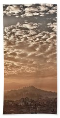 Cloud Over Kathmandu Bath Towel