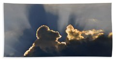 Hand Towel featuring the photograph Cloud Shadows by Charlotte Schafer
