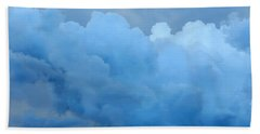 Hand Towel featuring the photograph Clouds 2 by Leanne Seymour