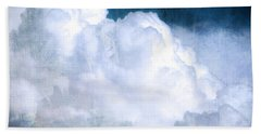 Clouds And Ice Hand Towel by Roselynne Broussard