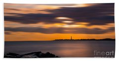 Clouds In Motion At Cape May  Hand Towel
